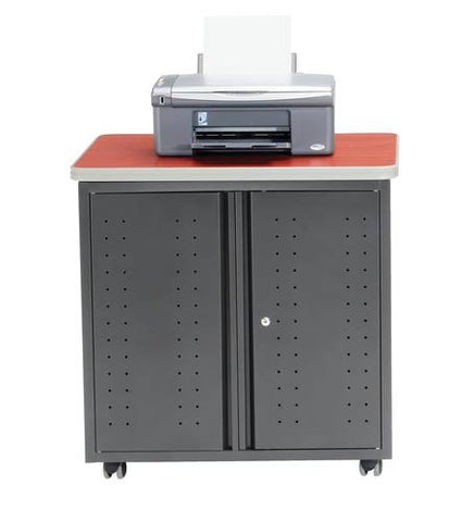"Mesa Series Locking Mobile Cabinet, 30"" W x 24"" D x 30"" H"