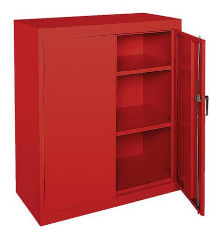 "Sturdy Steel Storage Cabinet, 36"" W x 18"" D x 42"" H, Specialty Colors"