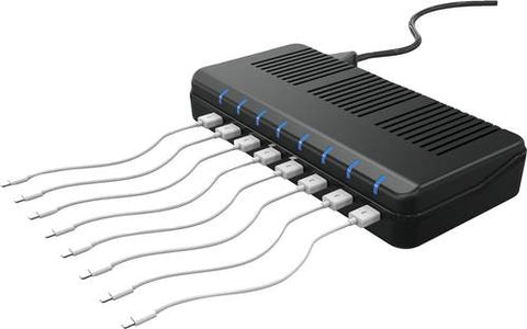 8-Port USB Charging Station