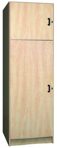 Music Instrument Storage Cabinet with Solid Melamine Doors, 2 Compartments