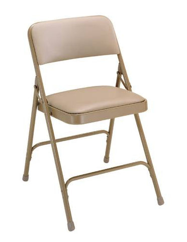Premium Padded Folding Chair with Vinyl Upholstery