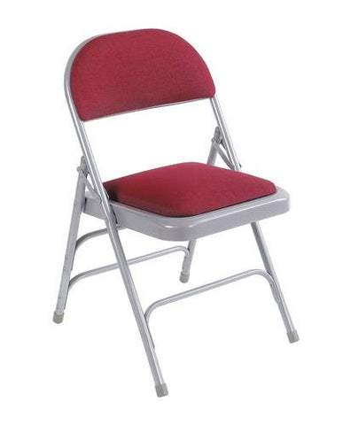 Ultimate Folding Chair, Vinyl Seat And Back