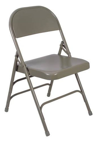 Triple-Strength Steel Folding Chair/4 Pack