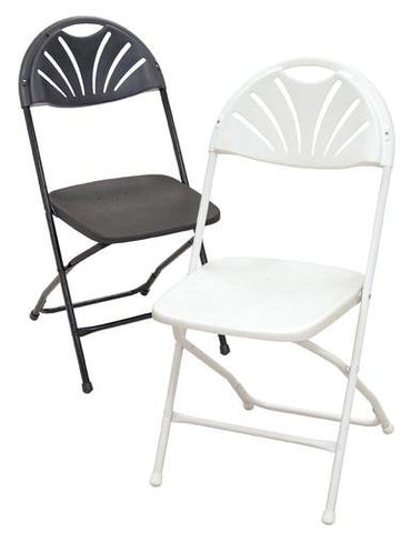 Fan-Back Folding Chair