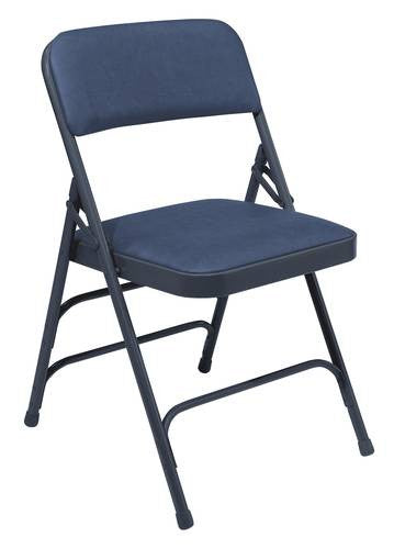Premium Padded Folding Chair, Triple Brace, Vinyl Upholstered U2013 ATD CAPITOL