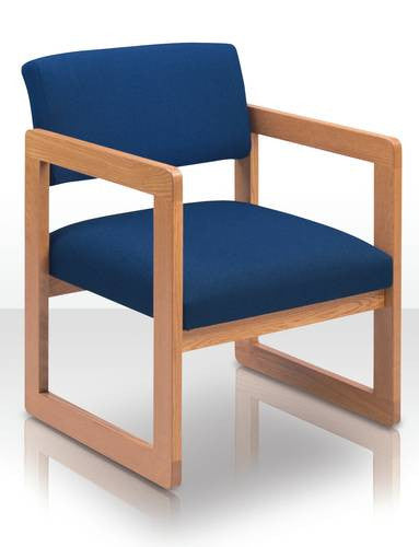 Open Back Chair, Standard Fabric Upholstery