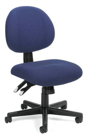 Adjustable 24-Hour Task Chair, Fabric Upholstery