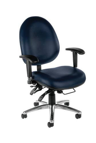ComfySeat™ Big & Tall Multi-Shift Chair, Anti-Microbial Vinyl Upholstery