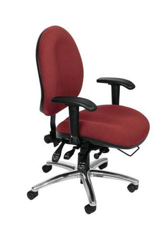 ComfySeat™ Big & Tall Multi-Shift Chair, Fabric Upholstery