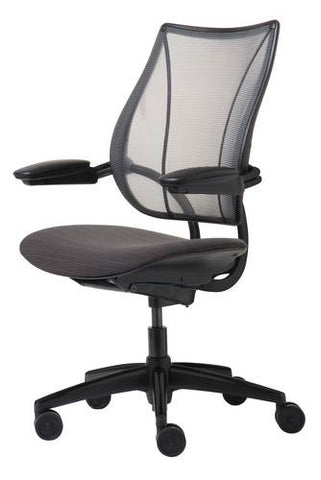 Liberty®, Task Chair with Mesh Back and Fabric Seat