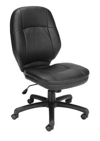 Stimulus Series Armless Mid-Back Swivel-Tilt Chair