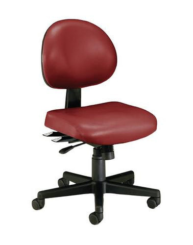 Adjustable 24-Hour Task Chair, Anti-Microbial Vinyl Upholstery