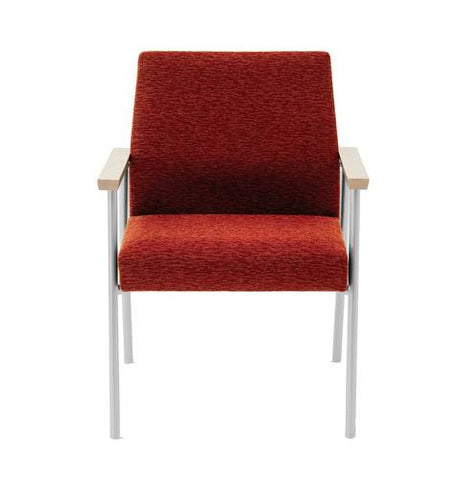 Mystic Series Heavy-Duty Extra-Wide Guest Chair, Healthcare Vinyl Upholstery