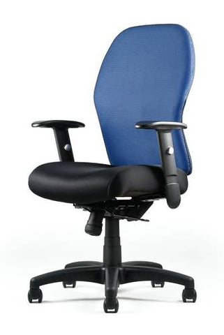Right Chair™ with Seat Slider and Skin Back in Choice of Colors