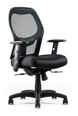 Right Chair™ with Black Mesh Back and Seat Slider
