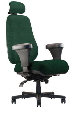 Big and Tall 24/7 High Back Ergonomic Chair with Headrest