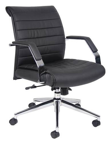 Mid-Back Swivel Chair, CaressoftPlus Upholstery