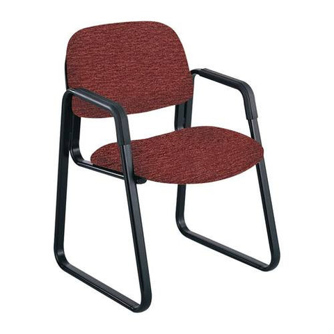 Cava® Urth™ Series Sled Base Guest Chair, Fabric Upholstery