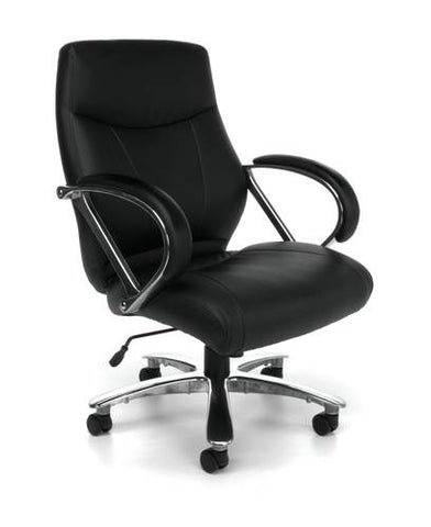 Avenger Big and Tall Mid-Back Executive Chair