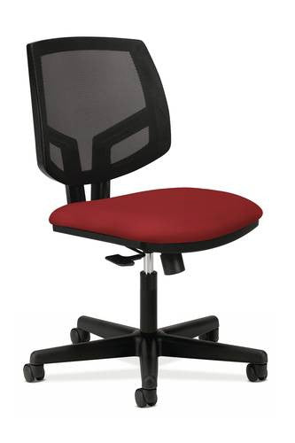 Volt Task Chair without Arms Standard Fabric Seat Black Mesh