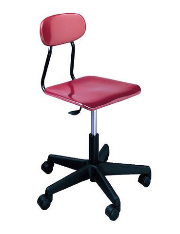 Computer Lab Chair with Solid Hard Plastic Seat and Back