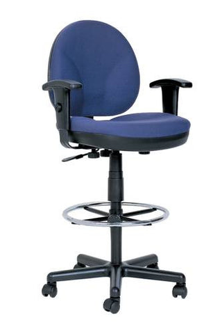 Adjustable Drafting Chair with Arms