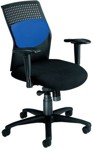 AirFlo Executive Chair, Black Frame