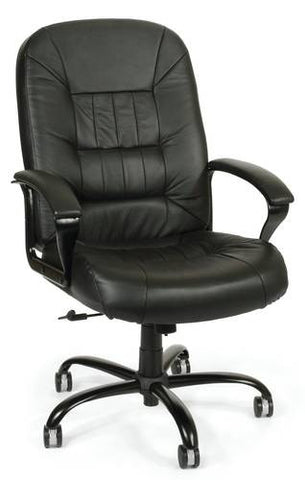 Leather Big and Tall Swivel Chair