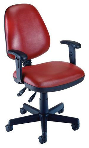 Anti-Bacterial Vinyl Task Chair with Arms
