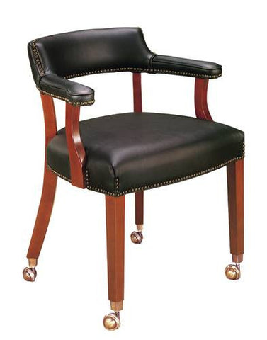 Premium Captain's Chair with Casters