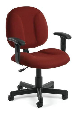 Comfort-Width Task Chair with Arms