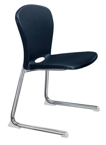 "Accomplish® Stacking Cantilever Base Chair, 18"" Seat Height"