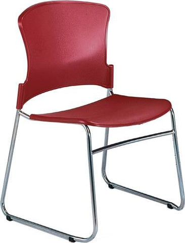 Coronet Stacking Chair with Plastic Seat & Back