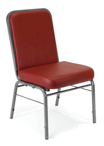 ComfortClass Stack Chair, Healthcare Vinyl Upholstery