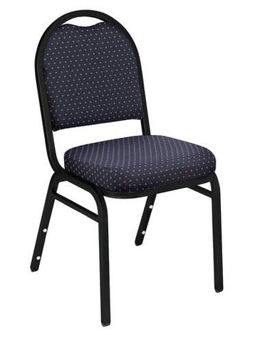 "Dome Back Stacking Chair, 2"" Thick Fabric Seat"