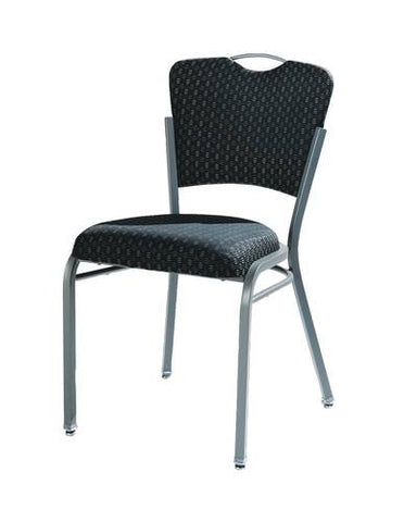 Impilato Stack Chair with Upholstered Seat & Back