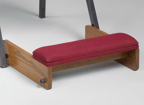 Wood Kneeler with Upholstered Cushion Top for use with Model 462093-GA Stack Chair