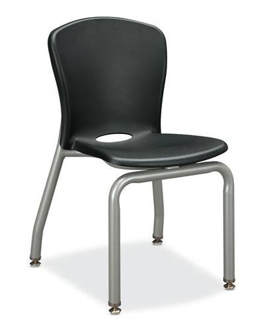 "Accomplish® Stacking 4-Leg Chair, 18"" Seat Height"