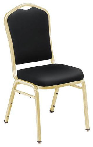 Economy Banquet Stack Chair, Vinyl Upholstery