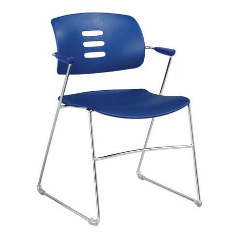 Agiliti™ Flex Back Stacking Arm Chair