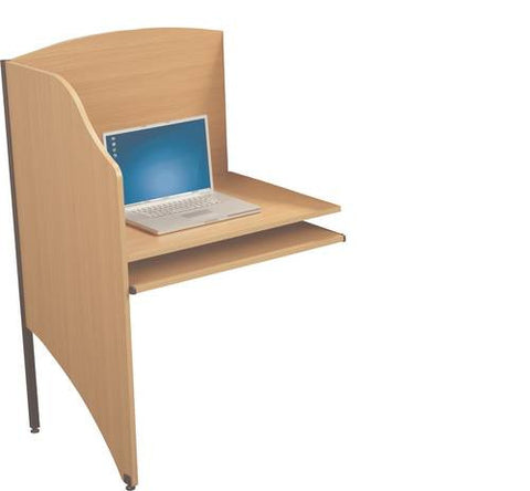 Versatile Study/Computer Add-On Carrel, Deluxe Series