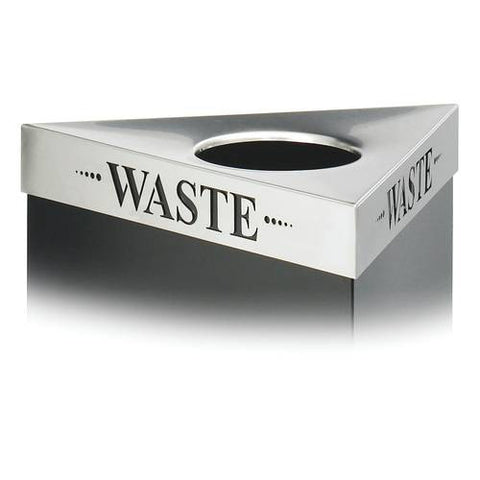 Trifecta® Receptacle Lid, Waste Inscription