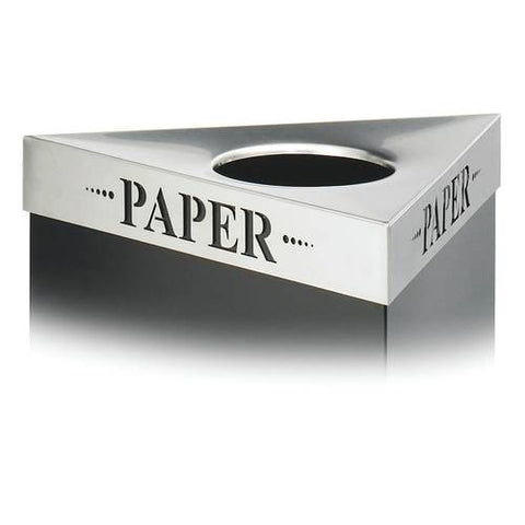 Trifecta® Receptacle Lid, Paper Inscription