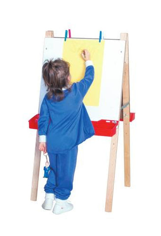 Double Adjustable Markerboard Easel