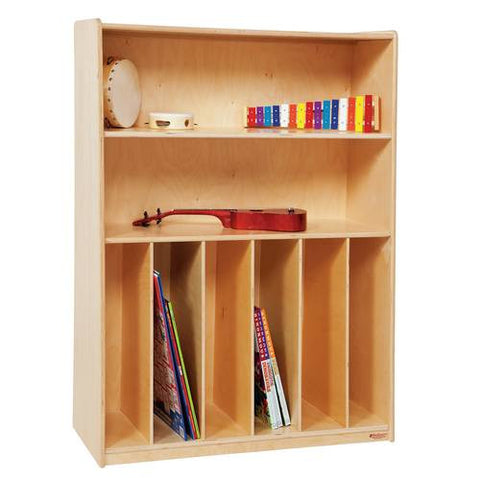 Tip-Me-Not™, Multi-Purpose Bookcase