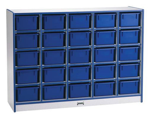 Rainbow Accents®, 25 Tray Mobile Cubbie Storage Unit