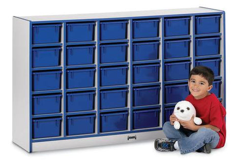 Rainbow Accents® 30 Tray Mobile Cubbie Storage Unit