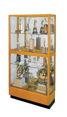"Heritage Series Wood Frame Display Case, 36"" W"