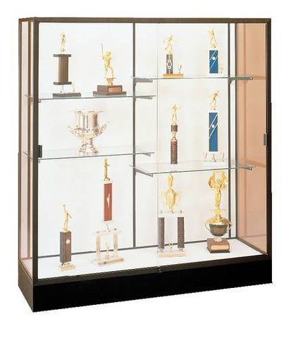 """Colossus"" Wide Capacity Display Case with Light Fixture, 60"" W x 20"" D x 66"" H"