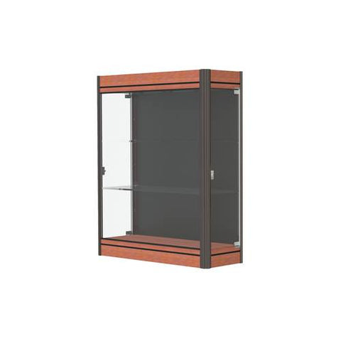 "Contempo Series Wall Display Case, 36"" W x 14"" D x 44"" H"